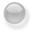 ラウンドボタンH25・ホワイト