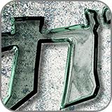 フォントでつくる!ガラスの破片文字(fc2)