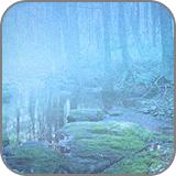 渓流の写真に幻想的な霧を発生させる (fc2)