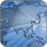透明アクリルの世界地図をつくる (fc2)