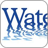 フォントでつくる!水面に映ったロゴ (fc2)