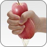 素手でリンゴを搾る (fc2)