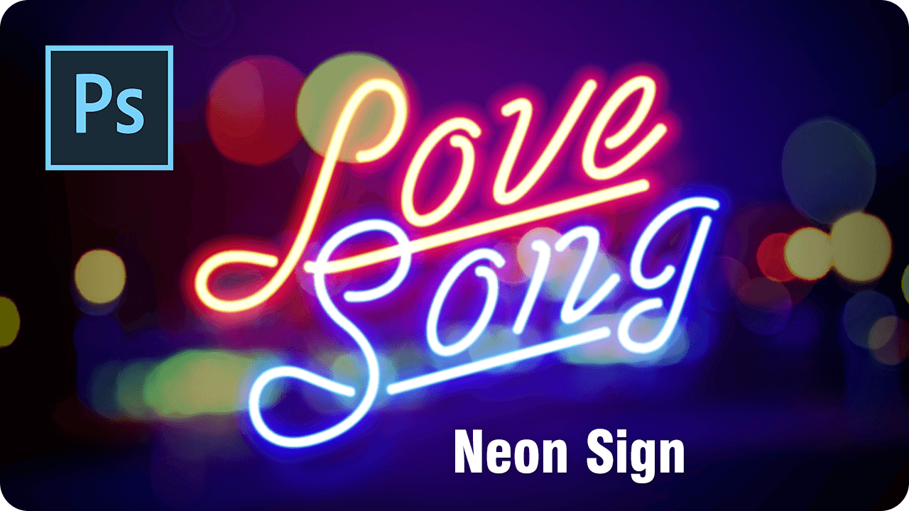 【ロゴ】フォントでつくる!夜を彩るネオンサイン