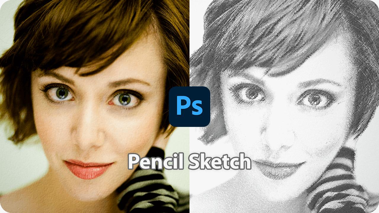 写真をイラスト調に!鉛筆で描いたスケッチ風