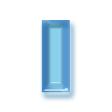 クリアベベル(透明プラスチック)・ブルー