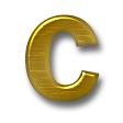 メタルネーム(ノーマル&ヘアライン)・ゴールド / ヘアライン
