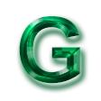 カットガラス・グリーン