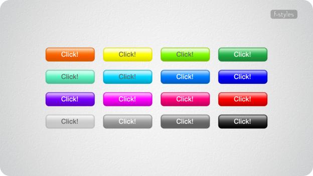 【スタイル】樹脂・スクエアボタンSG(半光沢・Web用ボタン)【フリー】