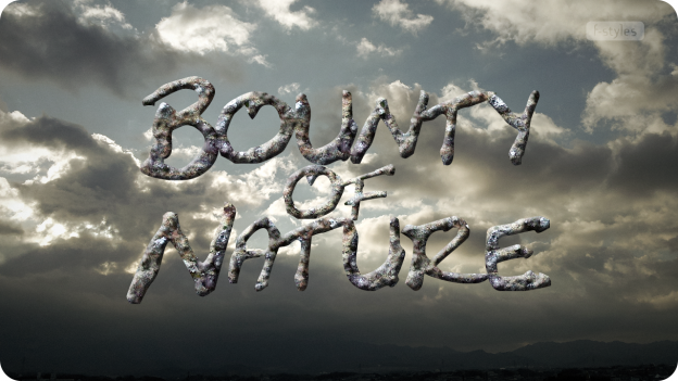 【スタイル】岩石&鉱物・礫岩(れきがん:小石が混じった岩)【フリー】