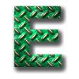 縞鋼板2・グリーン