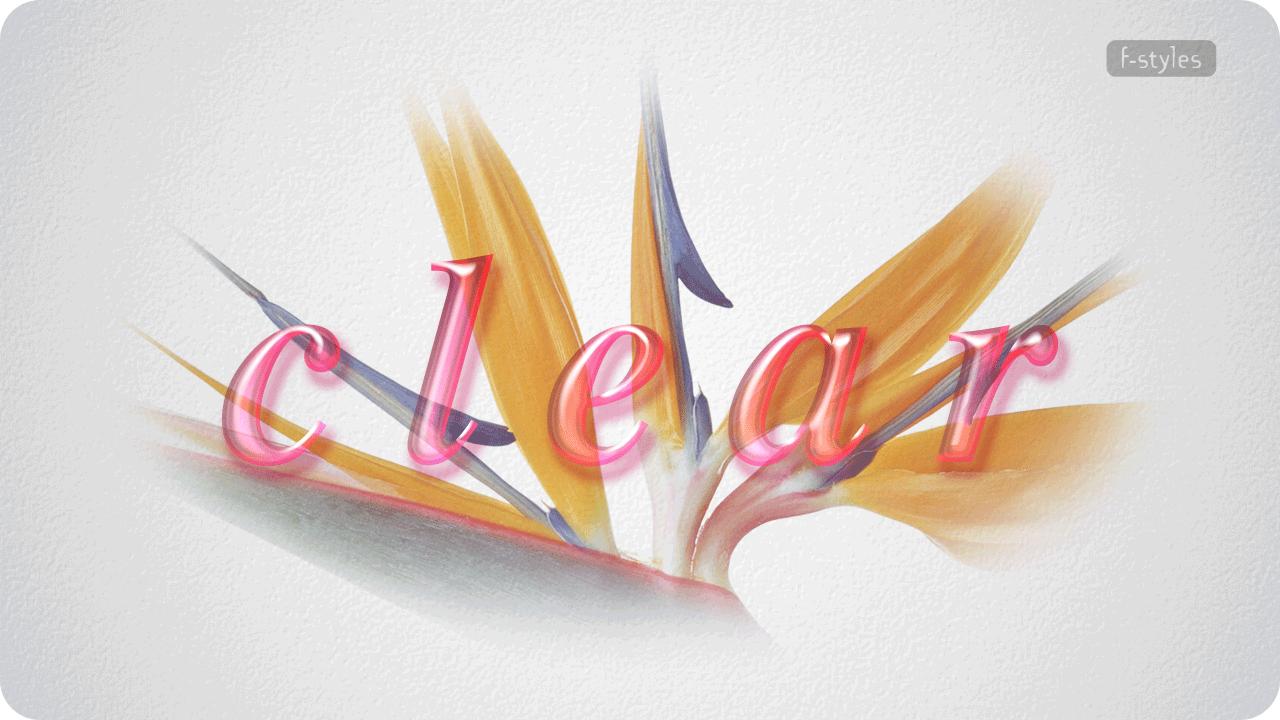 【スタイル】ガラス・クリアガラス2【フリー】