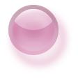 ラウンドボタンH25・ピンク