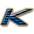 リフレクターライン・ブルー / ゴールド