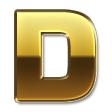 メタルネーム 2・ゴールド UG