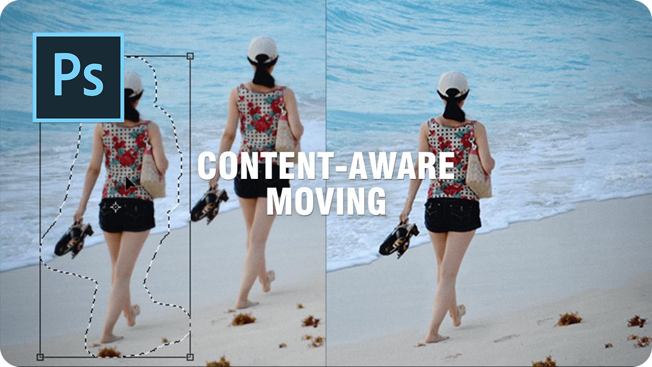 【レタッチ】画像内の人物を移動して自動修復する方法【コンテンツに応じた移動ツール】