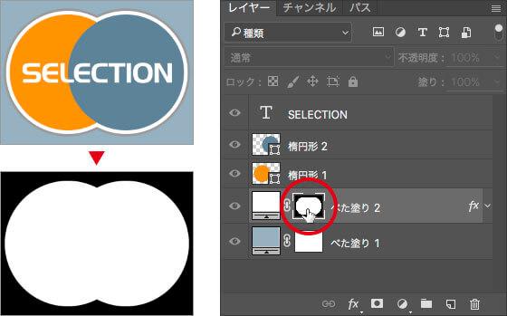 画像描画モード / レイヤーマスクモードの切り替え